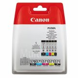 Tusze Oryginalne Canon PGI-570/CLI-571 CMYK (0372C004) (komplet)