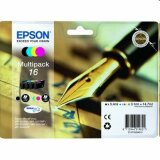 Tusze Oryginalne Epson T1626 (C13T16264010) (komplet)
