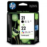 Tusze Oryginalne HP 21 + 22 (SD367AE) (komplet) do HP Officejet J3600