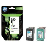 Tusze Oryginalne HP 350 + 351 (SD412EE) (komplet) do HP Officejet J5700