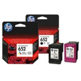 Tusze Oryginalne HP 652 (F6V25AE, F6V24AE) (komplet) do HP Deskjet Ink Advantage 3787