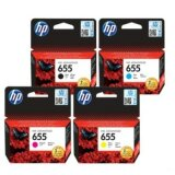 Tusze Oryginalne HP 655 (CZ112A, CZ111A, CZ110A, CZ109A) (komplet) do HP Deskjet Ink Advantage 6525 e-All-in-One
