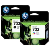 Tusze Oryginalne HP 703 (CD887AE, CD888AE) (komplet) do HP Deskjet Ink Advantage K209a