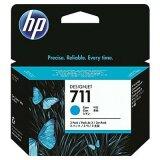 Tusze Oryginalne HP 711 (CZ134A) (Błękitne) (trójpak) do HP Designjet T520 - CQ893A