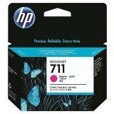 Tusze Oryginalne HP 711 (CZ135A) (Purpurowe) (trójpak)