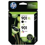 Tusze Oryginalne HP 901 XL BK + 901 C (SD519AE) (komplet) do HP Officejet J4524