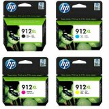 Tusze Oryginalne HP 912 XL (3YP34AE) (komplet) do HP Officejet Pro 8015
