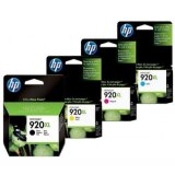 Tusze Oryginalne HP 920 XL (C2N92A) (komplet) do HP Officejet 7000 E809a