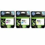Tusze Oryginalne HP 953 XL CMY (1CC21AE) (trójpak)