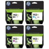 Tusze Oryginalne HP 953 XL CMYK (3HZ52AE) (komplet) do HP OfficeJet Pro 7740