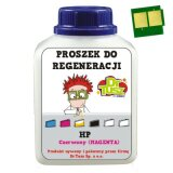 Proszek + Chip do regeneracji wkładu HP 125A (CB543A) (Purpurowy) do HP Color LaserJet CP1518 NI