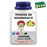 Proszek + Chip do regeneracji wkładu Samsung MLT-D108 (SU781A) (Czarny)