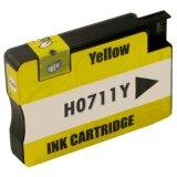 Tusz Zamiennik 711 do HP (CZ132A) (Żółty)