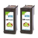 Tusze Zamienniki 339 (C9504EE) (Czarne) (dwupak) do HP Officejet 7215