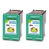 Tusze Zamienniki 344 do HP (C9505EE) (Kolorowe) (dwupak)
