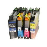 Tusze Zamienniki LC-121 CMYK (LC121CMYK) (komplet) do Brother DCP-J132 W